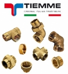 Фитинги резьбовые TIEMME (Made in Italy)