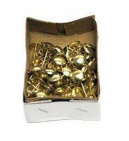 Гвозди декоративные усиленные золото