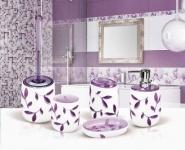 TATKRAFT Immanuel Violet 12080 (694512) Стакан для ванной комнаты