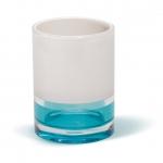 TATKRAFT TOPAZ BLUE 12738 Стакан для ванной акрил трехслойное