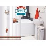 Тканевая штора для ванной комнаты TATKRAFT  LONDON SITY 14701