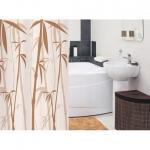 Штора для ванной комнаты TATKRAFT  BAMBOO BEIGE 14060