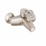 Смеситель Edeny E15203 для ванны короткий нос сатин