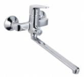 Смеситель Edeny E7104А для ванны прямой нос дивертор в корпусе (35)