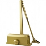 Доводчик KORAL № 603 (45-65кг) золото