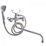 Смеситель Crystal TANGO 510-09 для ванны фигурный нос