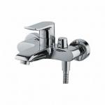 Смеситель Ledeme L3234 для ванны короткий нос дивертор в корпусе