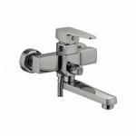 Смеситель Ledeme L3130 для ванны короткий нос дивертор в корпусе
