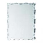 Зеркало Ledeme L623 50х65 прямоугольное волнистые края