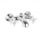 Смеситель Edeny E1703 для ванны короткий нос керамический барашек