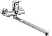 Смеситель Edeny E18804 для ванны прямой нос (люкс)