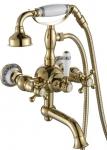 Смеситель Edeny E10883 для ванны короткий нос золото