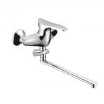 Смеситель Edeny E2504A для ванны прямой нос дивертор в корпусе