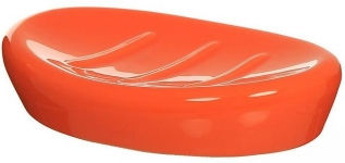 Coppalino 6401808 Мыльница керамика оранжевая