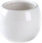 Coppalino 6402026 Стакан для ванной комнаты керамика белая