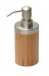 Бонья 282333 Дозатор для жидкого мыла бамбук нержавеющая сталь