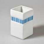 Breeze 691184 Стакан для ванной комнаты керамика голубой