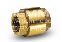 """Обратный клапан TIEMME YACHT 1/2"""" м/м с металлическим затвором"""
