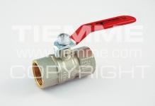 """Кран шаровый TIEMME TORNADO 3/4"""" м/м стальной рычаг/красный"""
