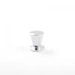 Ручка мебельная кнопка 2881-М СР хром