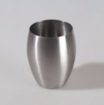 С Kalipso 691726 Стакан для ванной комнаты нержавеющая сталь