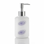 AXENTIA BRISE 282397 Дозатор для жидкого мыла керамика белая