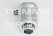 """Клапан TIEMME 1/2"""" 1980004 воздухоотводный боковой выход"""