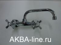 Смеситель D-Lin D142819 для кухни  пристенный нос 22 см