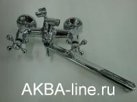 Смеситель D-Lin D145810-F для ванны прямой нос(силумин)