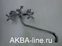 Смеситель D-Lin D145819 для ванны барашки (силумин)