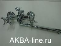 Смеситель D-Lin D146807-F для ванны барашки (силумин)