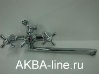 Смеситель D-Lin D146819-F для ванны барашки (силумин)