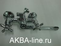 Смеситель D-Lin D147819-F для ванны барашки (силумин)