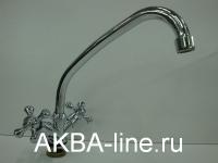 Смеситель D-Lin D151825-Н для кухни барашки