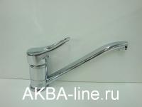 Смеситель D-Lin D153601 для кухни керамический (картридж 40) шпилька