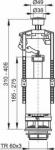 Колонка сливная А-2000 ALCAPLAST