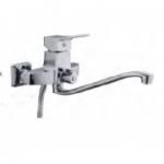 Смеситель D-Lin D147451 для ванны с фигурным носом 30см