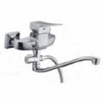 Смеситель D-Lin D140451 для ванны с фигурным носом 30см