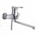 Смеситель D-Lin D146405 для ванны с прямым носом 30см