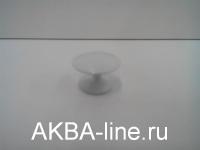 Ручка мебельная кнопка 306 (5022) белая