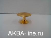 Ручка мебельная кнопка 306 (5022) РВ