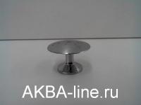 Ручка мебельная кнопка 306 (5022) хром