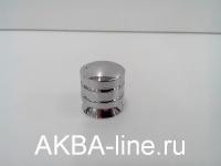 Ручка мебельная кнопка 2804 СР хром