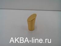 Ручка мебельная кнопка 3363 РВ золото