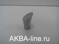 Ручка мебельная кнопка 3363 СР хром