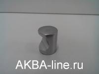 Ручка мебельная кнопка 2815 SS матовый хром