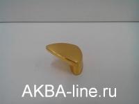 Ручка мебельная кнопка 3773 РВ золото