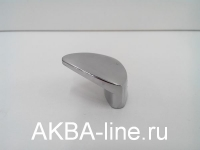 Ручка мебельная кнопка 3773 СР хром