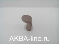 Ручка мебельная кнопка 3772 SS мат хром