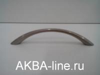 Ручка мебельная скоба 211С-96мм матовый хром